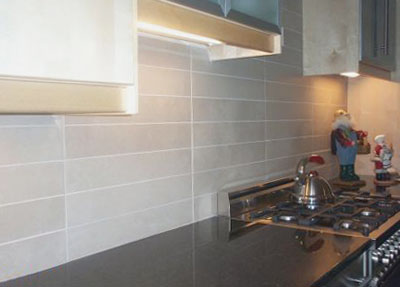 Cork tiling brushstrokes tiling experienced tiling services brush strokes painting - Kitchen splashback tiles ideas ...